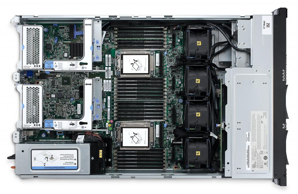 IBM System x3150 M4 offen